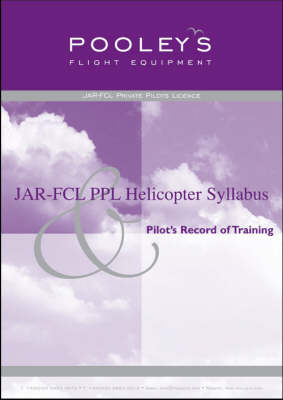 JAR-FCL PPL Helicopter Syllabus and Pilot's Record of Training