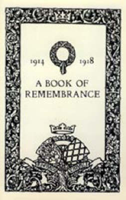 Book of Remembrance 1914-1918