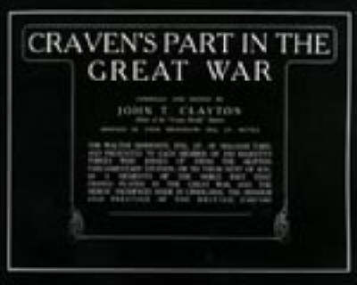 Craven's Part in the Great War