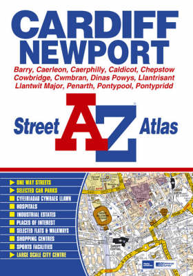 A-Z Street Atlas of Cardiff and Newport