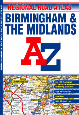 A-Z Birmingham and the Midlands