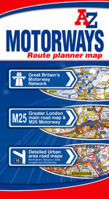 Motorways Route Planner Map