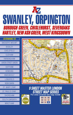 Master Map of South East London