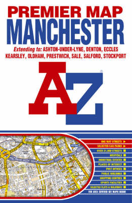 Premier Map of Manchester
