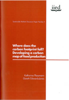 Where Does the Carbon Footprint Fall?: Developing a Carbon Map of Food Production