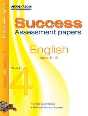 8-9 English Assessment Success Papers: 8-9 years, levels 2-4