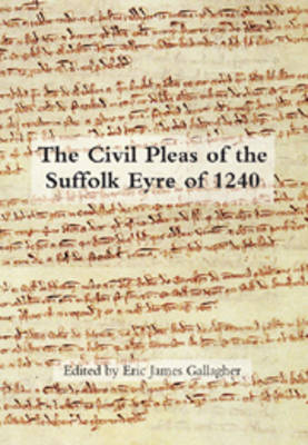 The Civil Pleas of the Suffolk Eyre of 1240