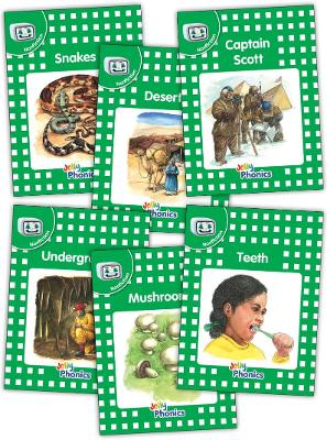 Jolly Phonics Readers, Nonfiction, Level 3: in Precursive Letters (BE)