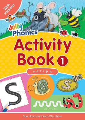 Jolly Phonics Activity Book 1: in Precursive Letters (BE)