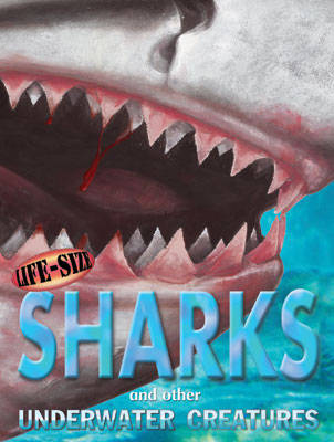 Life-Size Sharks: And Other Underwater Creatures
