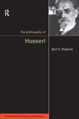 The Philosophy of Husserl