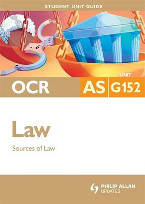 OCR AS Law: Sources of Law: Unit G152