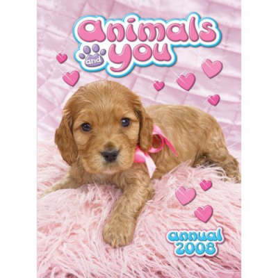 """""""Animal and You"""" Annual: For Girls"""