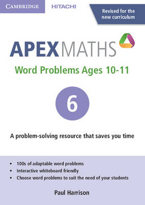 Apex Word Problems Ages 10-11 DVD-ROM 6 UK edition