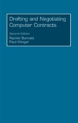 Drafting and Negotiating Computer Contracts