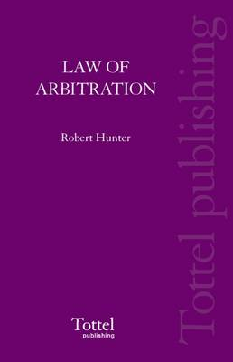The Law of Arbitration in Scotland