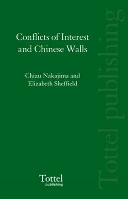 Conflicts of Interest and Chinese Walls
