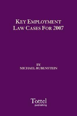 Key Employment Law Cases for 2007