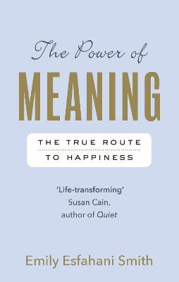 The Power of Meaning: The true route to happiness