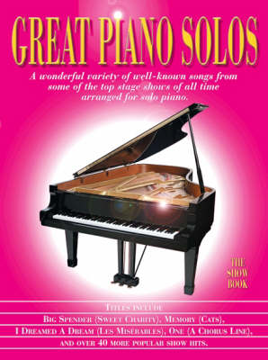Great Piano Solos - The Show Book