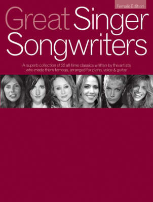 Great Singer Songwriters - Female Edition: Female Edition