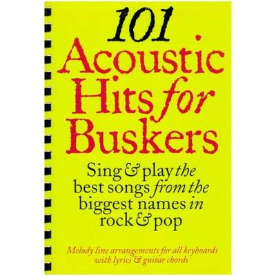 101 Acoustic Hits for Buskers