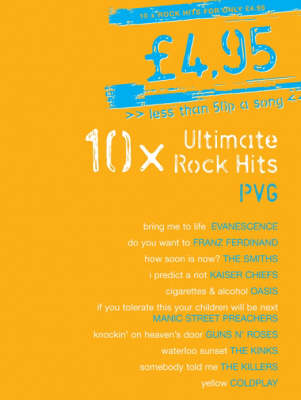 10x Ultimate Rock Hits: PVG
