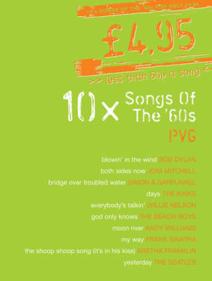 10 Songs of The 60s: PVG