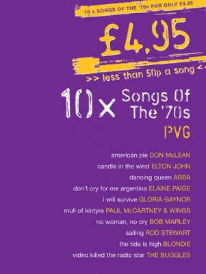 10 Songs Of The 70's: PVG