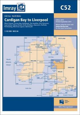 Imray Chart C52: Cardigan Bay to Liverpool