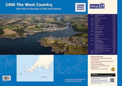 Imray Chart Pack 2400: West Country Chart Pack