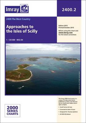Imray Chart 2400.2: Approaches to the Isles of Scilly