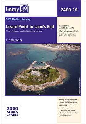 Imray Chart 2400.10: Lizard Point to Land's End