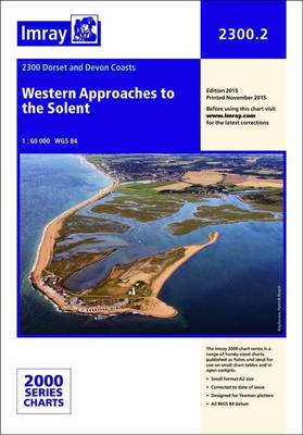 Imray Chart 2300.2: Western Approaches to the Solent
