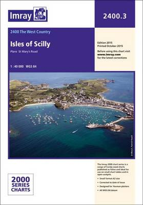 Imray Chart: Laminated Isles of Scilly