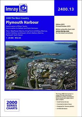 Imray Chart: Laminated Plymouth Harbour