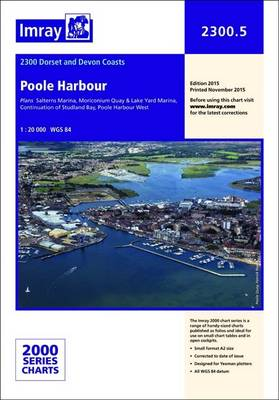 Imray Chart: Laminated Poole Harbour