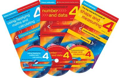 Primary Maths Year 4: The Big Interactive Book of Using/applying Maths and Calculating