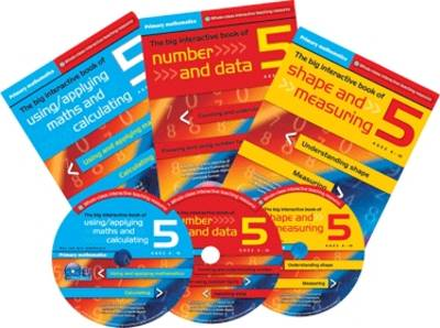 Primary Maths Year 5: The Big Interactive Book of Using/applying Maths and Calculating