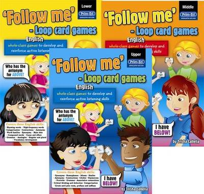 Loop Card Games - English Middle: Middle primary