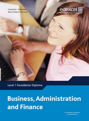 Edexcel Diploma Level 1 Foundation Diploma Business Administration and Finance Student Book