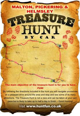 Malton, Pickering and Helmsley Treasure Hunt by Car