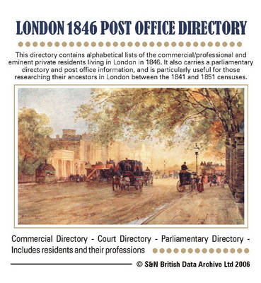 London 1846 Post Office Directory