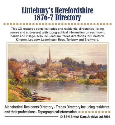 Herefordshire, Littlebury's 1876-7 Directory and Gazetteer
