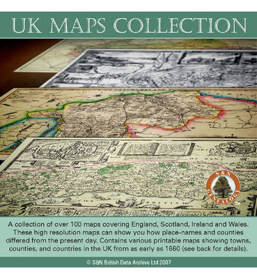 UK Maps Collection: Collection of Over 100 Maps Covering England, Scotland, Ireland and Wales. These High Resolution Maps Can Show You How Place-names and Counties Differed from the Present Day. Contains Various Printable Maps Showing Towns, Counties, and