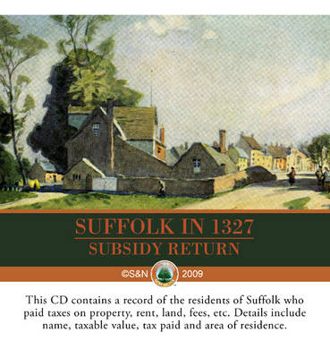 Suffolk in 1524: Subsidy Returns