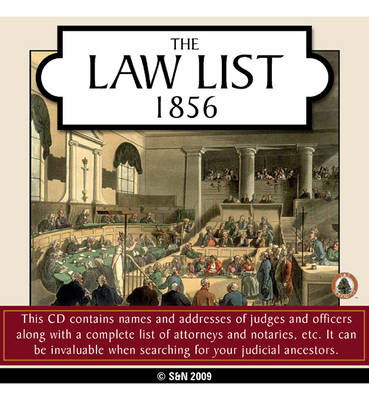 The Law List - 1856
