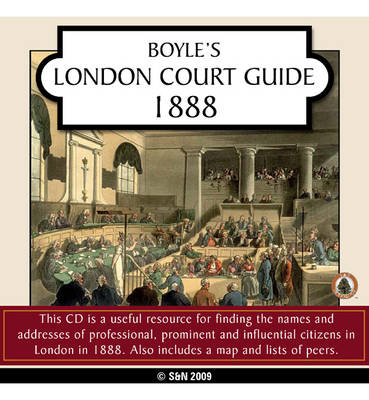 Boyle's Court Guide 1888