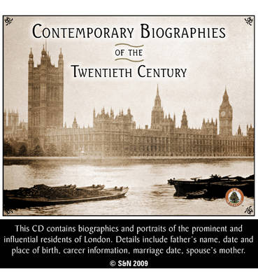 Contemporary Biographies at the Opening of the 20th Century