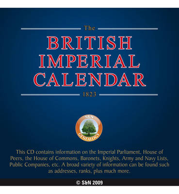 The British Imperial Calendar 1823